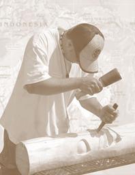 Lake Tiki Carving