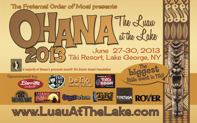 Ohana Luau at the Lake 2013